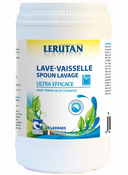 Detergent pudra bio pentru masina de spalat vase, 1 kg - LERUTAN