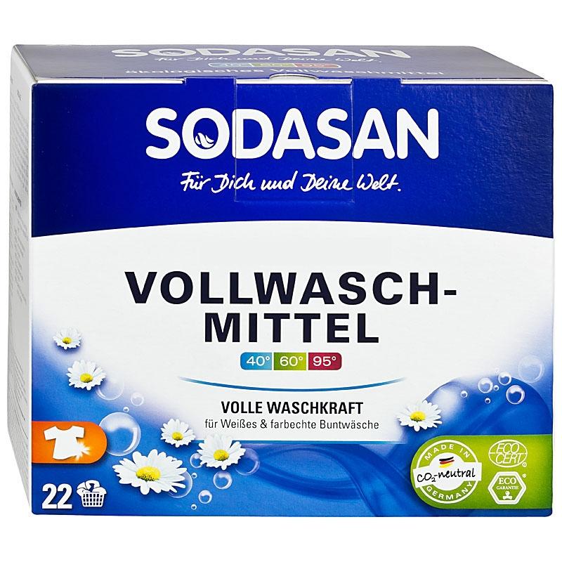 Detergent pudra pentru spalari grele, 1.2 kg - Sodasan