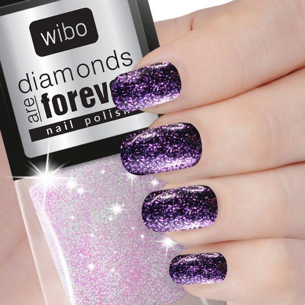 Lac de unghii sidef Diamonds are forever no.2 - Wibo