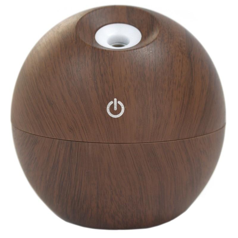 Difuzor aromaterapie cu ultrasunete si LED, Rosewood (tip glob) - Ancient Wisdom