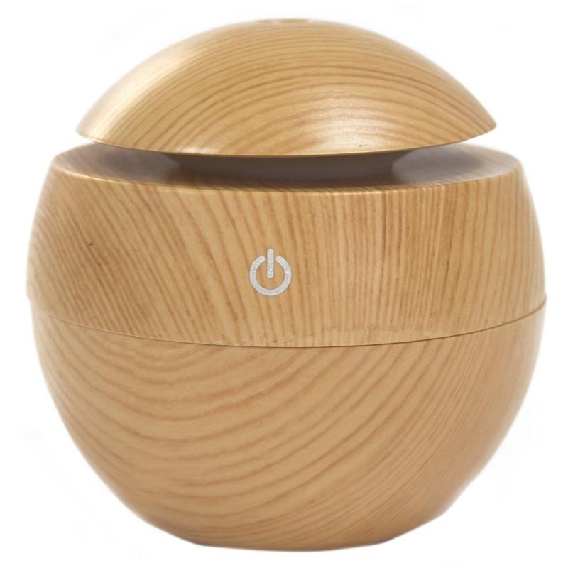 Difuzor aromaterapie cu ultrasunete si LED, Pinewood (tip ciuperca) - Ancient Wisdom