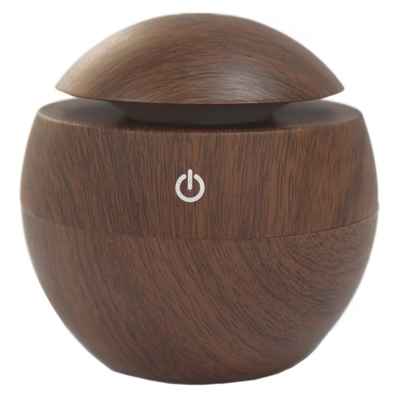 Difuzor aromaterapie cu ultrasunete si LED, Rosewood (tip ciuperca) - Ancient Wisdom