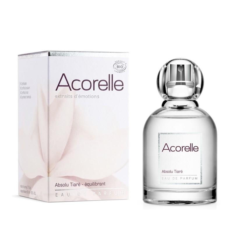 Apa de parfum bio Absolu Tiare, 50 ml - Acorelle