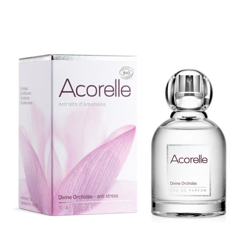 Apa de parfum bio Divine Orchidee, 50 ml - Acorelle
