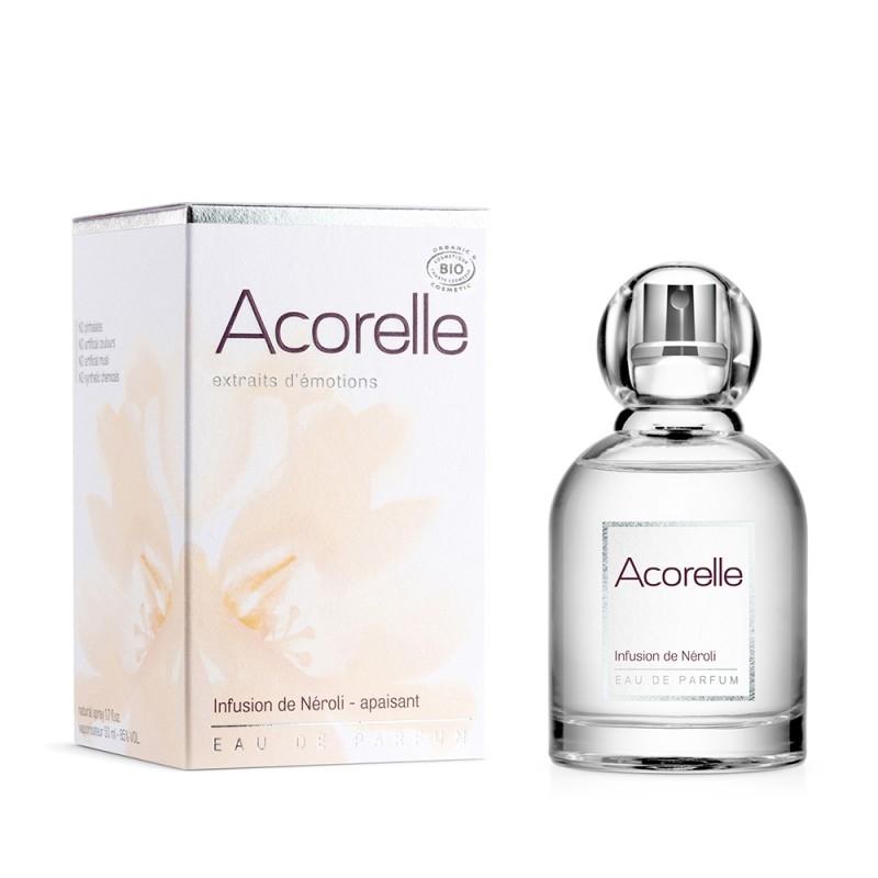 Apa de parfum bio Infusion de Neroli, 50 ml - Acorelle