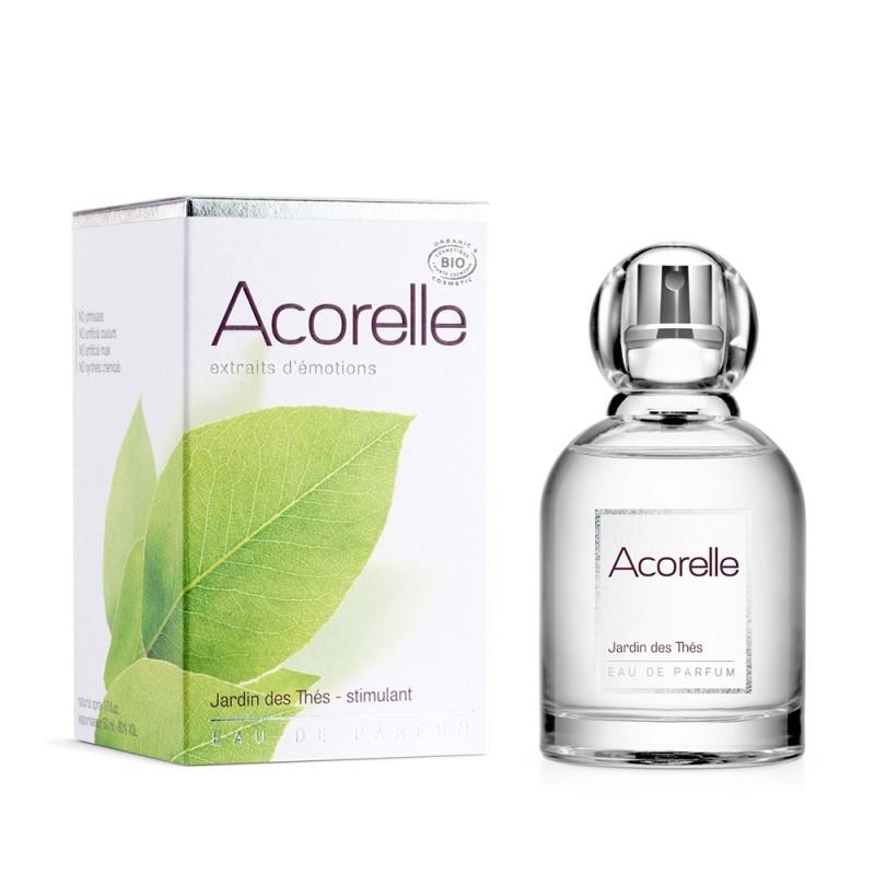 Apa de parfum bio Jardin de Thes, 50 ml - Acorelle
