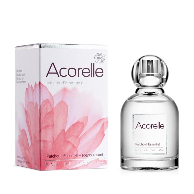 Apa de parfum bio Patchoulli Essentiel, 50 ml - Acorelle