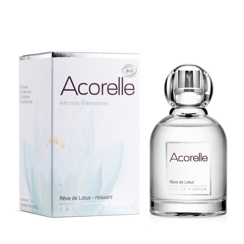 Apa de parfum bio Reve de Lotus, 50 ml - Acorelle