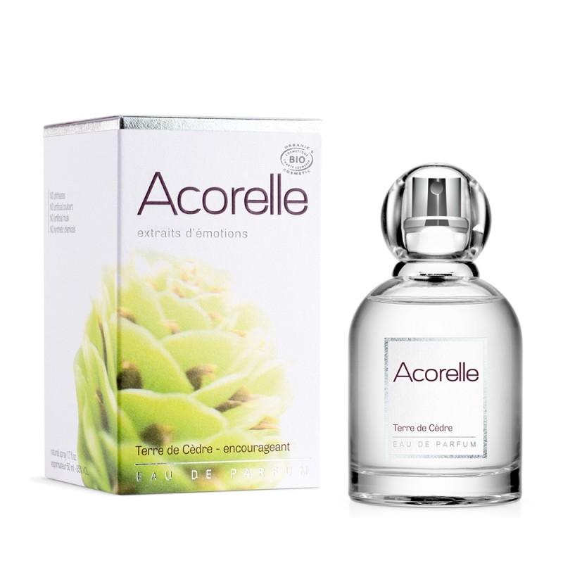 Apa de parfum bio Terre de Cedre, 50 ml - Acorelle