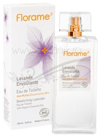 Apa de toaleta bio Bewitching Lavender, 100 ml - Florame