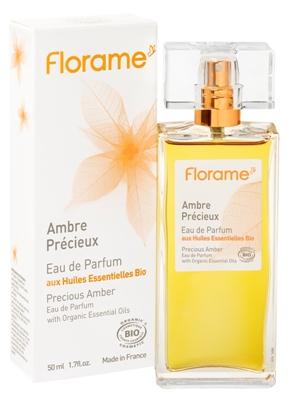 Apa de parfum bio Precious Amber, 50 ml - Florame