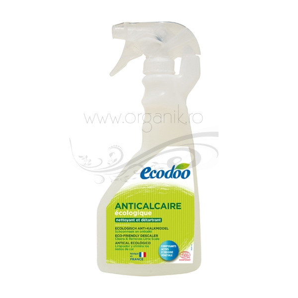 Spray anticalcar si detartrant, ecologic, 500 ml - Ecodoo