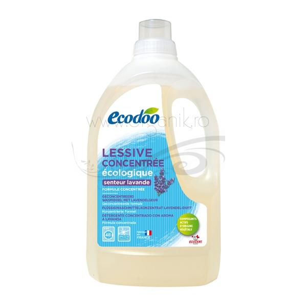 Detergent bio pentru rufe cu aroma de lavanda, 1,5L - Ecodoo