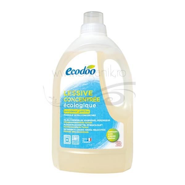 Detergent bio pentru rufe cu aroma de piersici, 1,5L - Ecodoo