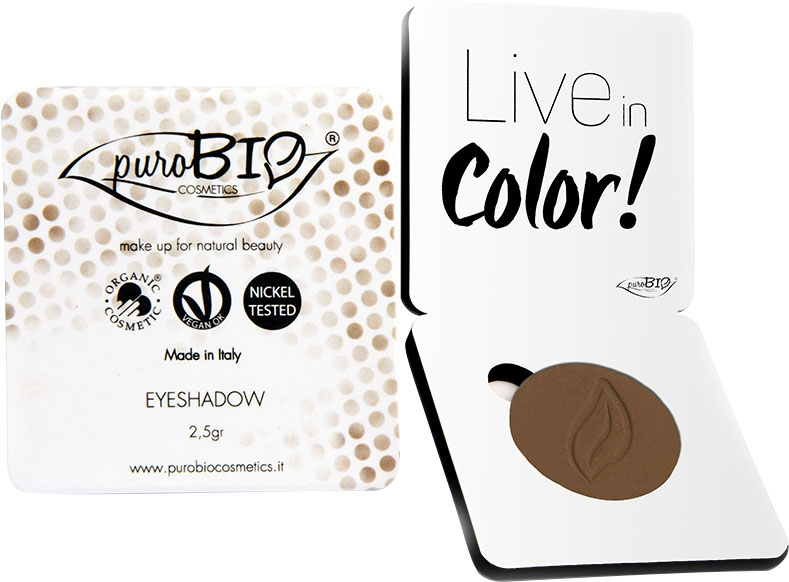 Fard pleoape bio Cold Brown no.14 (mat) - PuroBio