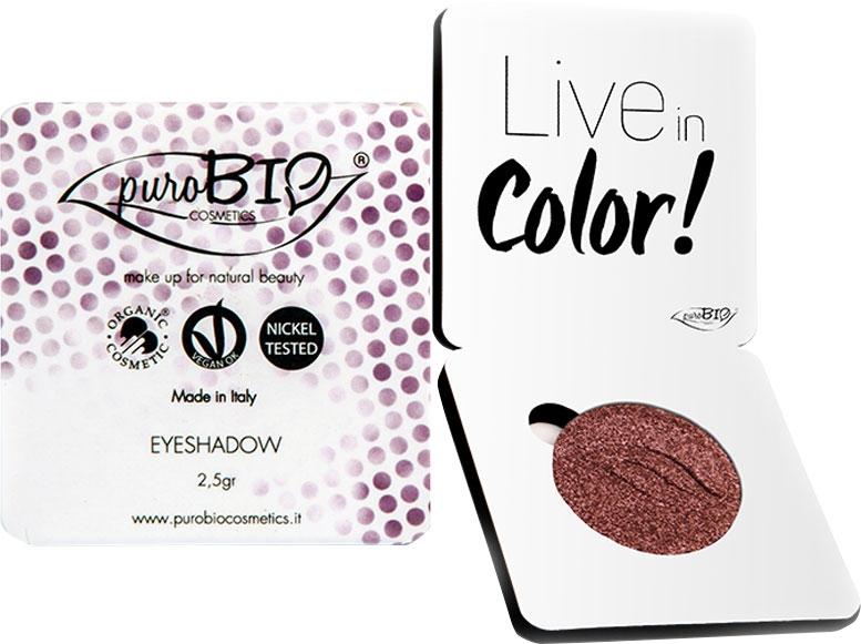 Fard pleoape bio Dusky Pink no.15 (mov sifdefat) - PuroBio