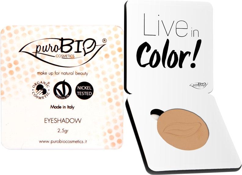 Fard pleoape bio Peach no.12 (mat) - PuroBio