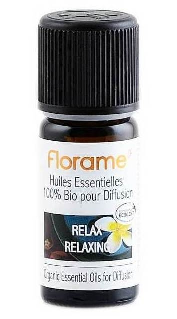Compozitie uleiuri esentiale BIO pentru relaxare, 10ml - Florame