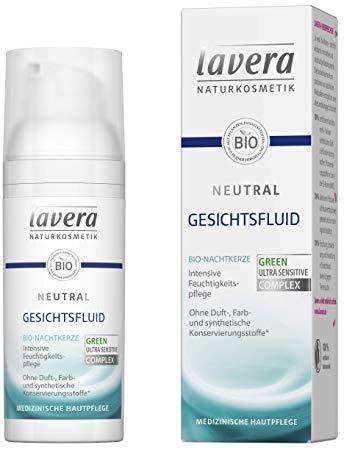 Fluid facial pentru tenul alergic, foarte sensibil si iritat, Neutral - Lavera