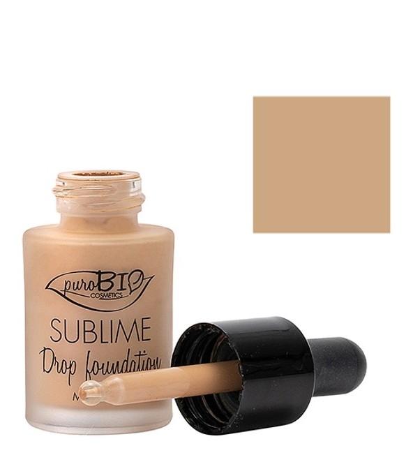 Fond de ten bio Sublime Drop Foundation 03, 15ml - PuroBio