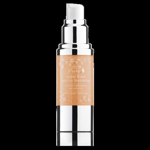 Fond de ten acoperire totala si protectie solara, Peach Bisque - 100 Percent Pure Cosmetics