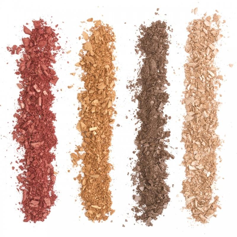 Paleta farduri de pleoape organice cu ingrediente florale, FRESH - ZUII Organic