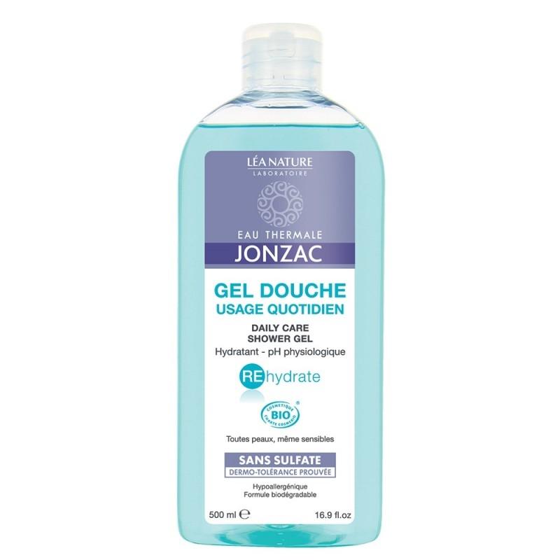 Gel de dus bio hidratant pentru uz cotidian REhydrate, 500ml - JONZAC