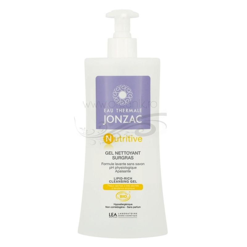 Gel curatare nutritiv pentru piele uscata si atopica Nutritive, 400ml - JONZAC