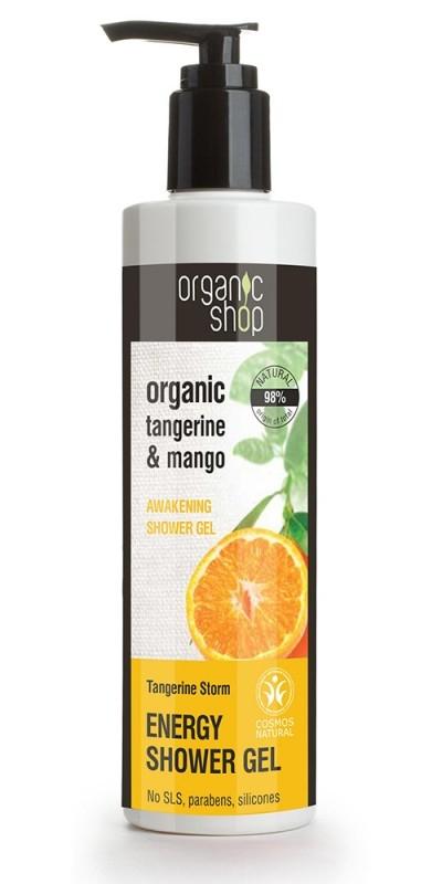 Gel de dus bio cu mango si mandarine, Tangerine Storm - Organic Shop