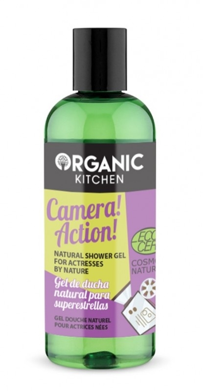 Gel de dus bio cu extract de mango Camera! Action! - Organic Kitchen