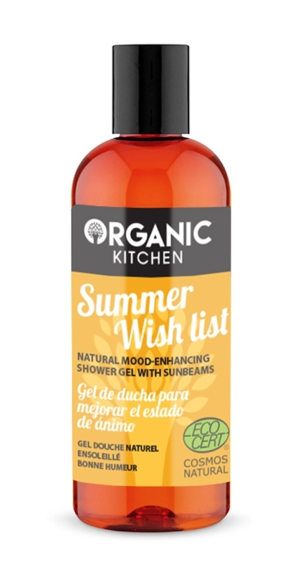 Gel de dus buna-dispozitie Summer Wish List - Organic Kitchen