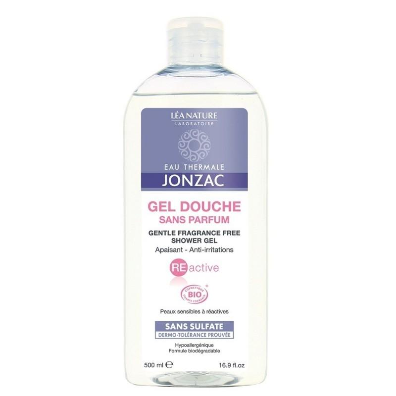Gel de dus fara parfum calmant, anti-iritatii REactive, 500ml - JONZAC