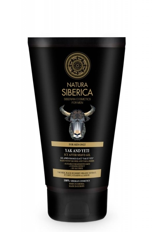 Gel racoritor after shave Yak & Yeti, 150 ml - Natura Siberica