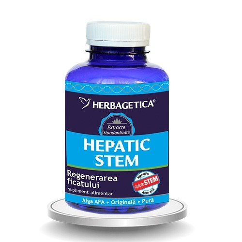 Hepatic STEM, 60 capsule - HERBAGETICA