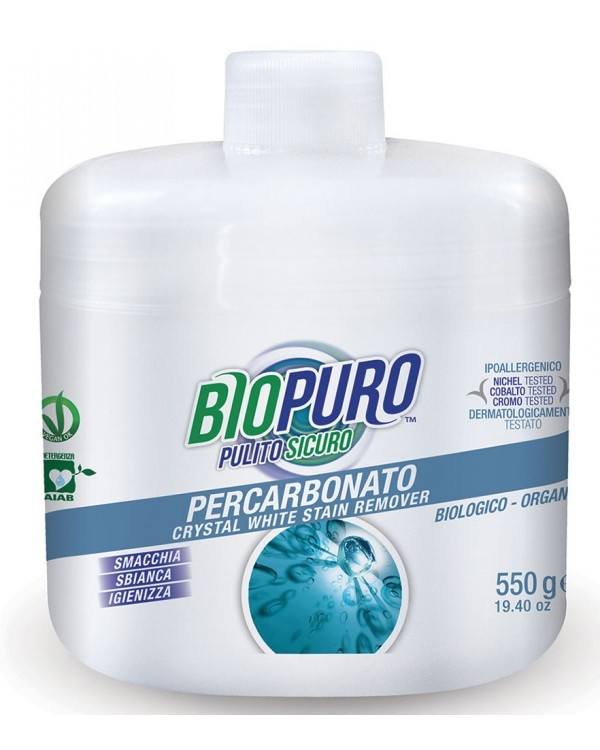 Inalbitor ecologic cu oxigen activ, pentru pete dificile, 550g - Biopuro