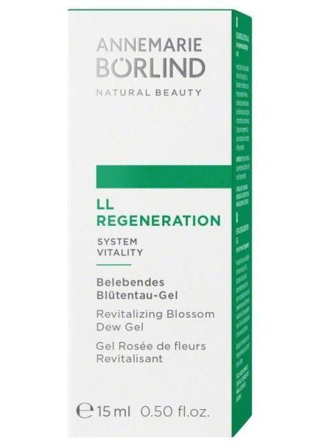 LL Regeneration Gel tonifiant pentru primele riduri, travel size 15ml - Annemarie Borlind