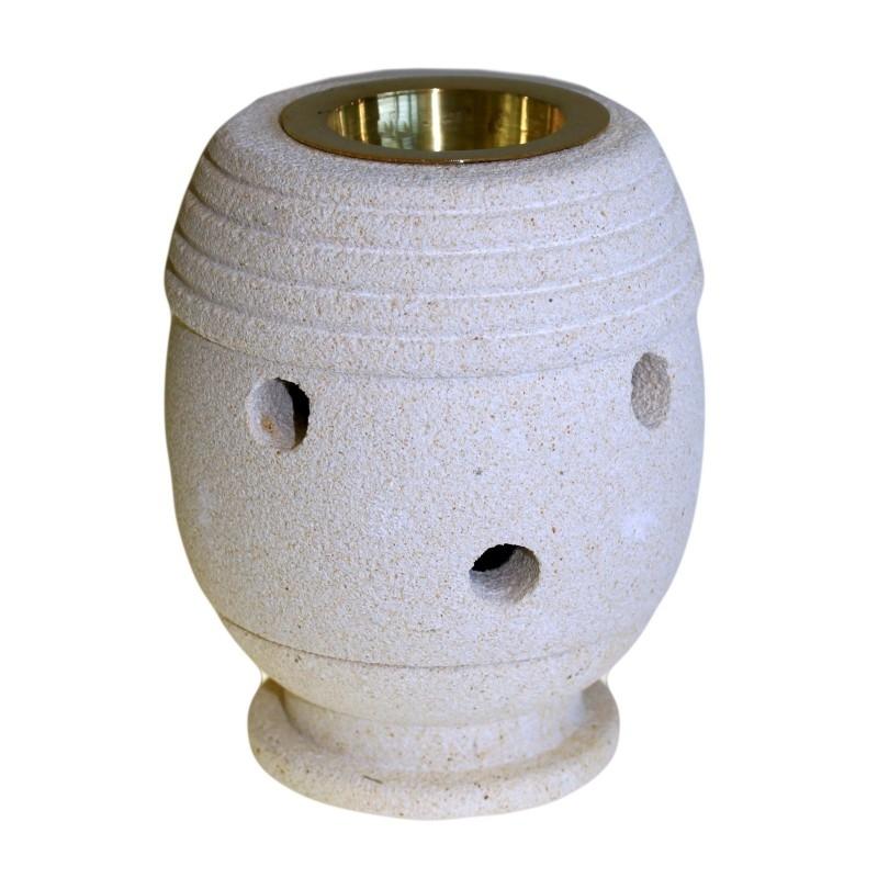 Lampa aromaterapie din piatra sculptata manual, Classic - Ancient Wisdom