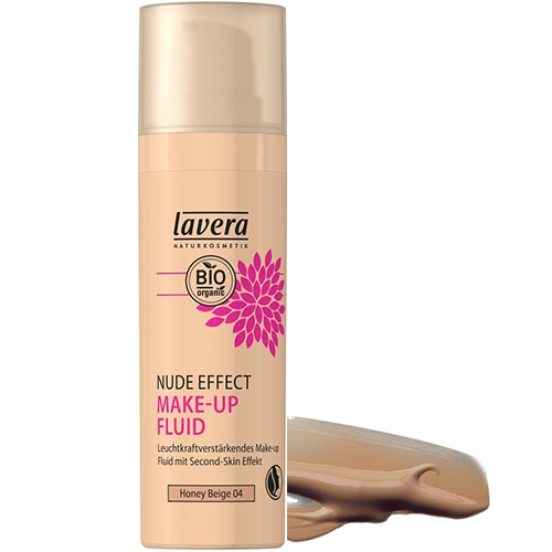 Fond de ten translucid iluminator Nude Effect, Honey Beige 04 - LAVERA