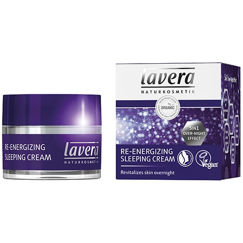 Crema de noapte 5 in 1 Re-Energizing Sleeping Cream - LAVERA