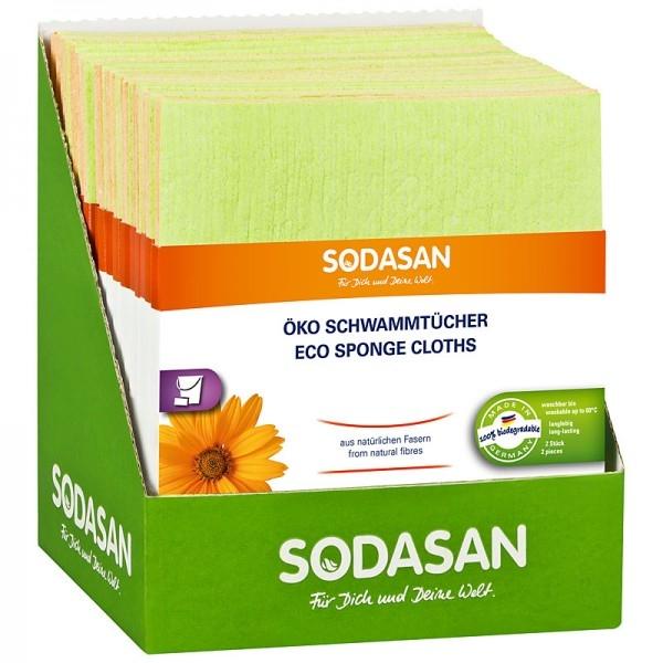 Lavete ecologice pentru curatenie, set 2 buc - Sodasan