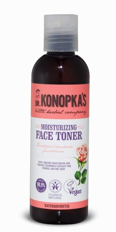 Lotiune tonica hidratanta pentru ten normal si uscat, 200 ml - Dr. Konopka