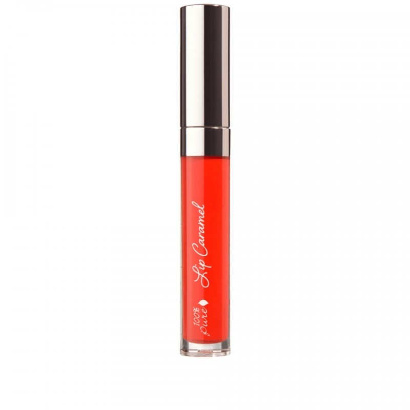 Ruj lichid Lip Caramel, Scotch Kiss - 100 Percent Pure Cosmetics