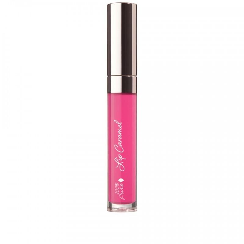 Ruj lichid Lip Caramel, Sorbetto - 100 Percent Pure Cosmetics