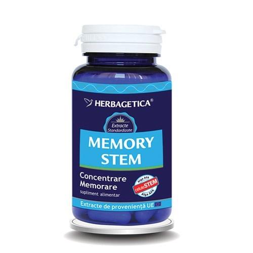 Memory STEM, 30 capsule - HERBAGETICA
