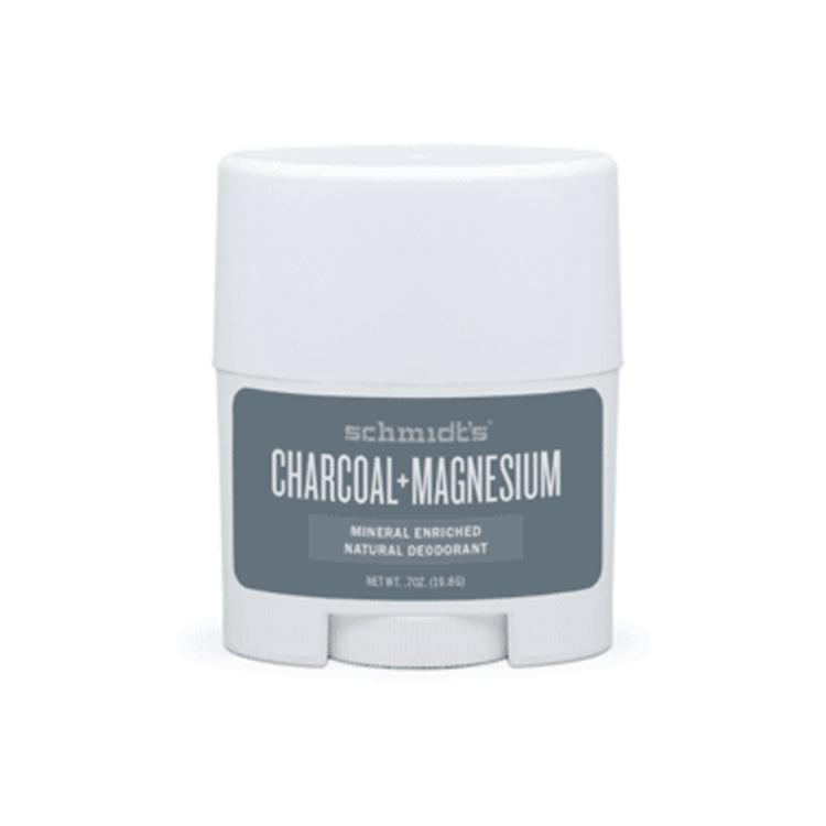 MINI Deodorant stick cu bicarbonat, Charcoal & Magnesium - Schmidts's Deodorant