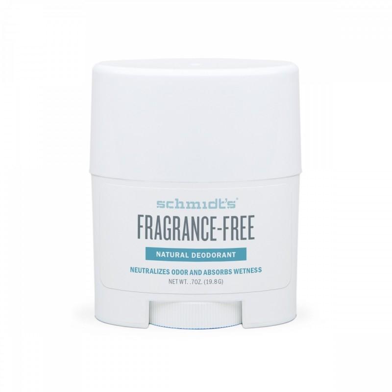 MINI Deodorant stick cu magneziu pentru piele sensibila, fara parfum - Schmidts's Deodorant