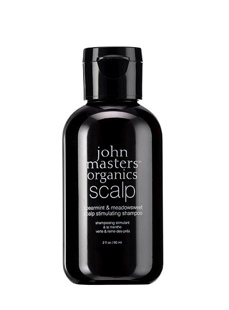 MINI Sampon pentru stimularea scalpului Menta & Cretusca, 60ml - John Masters Organics