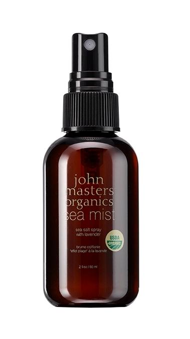 MINI Spray coafant cu apa de mare si lavanda Sea Mist, 60 ml - John Masters Organics