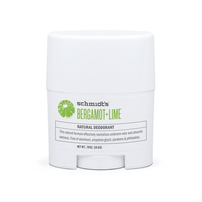 MINI deodorant stick cu bicarbonat, Bergamot & Lime - Schmidts's Deodorant
