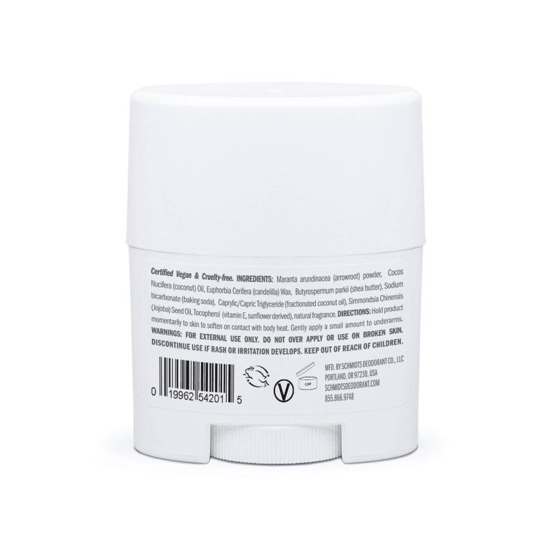 MINI deodorant stick cu bicarbonat, Rose & Vanilla - Schmidts's Deodorant